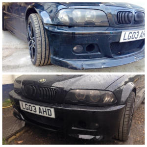 bmw-e46-330i-front-bumper-repair