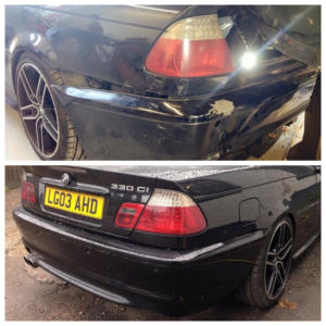 bmw-e46-330i-rear-bumper-repair