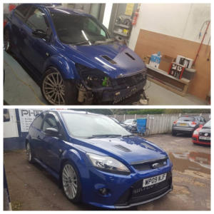 focus-rs-front-bumper-repair
